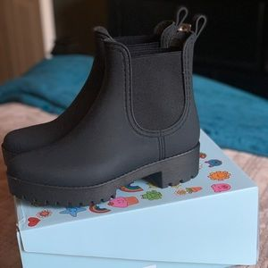 ⚡️NIB⚡️ Jeffrey Campbell Cloudy rain boots